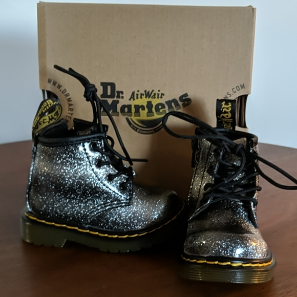 Dr Martens Ombre Glitter Boot For Baby